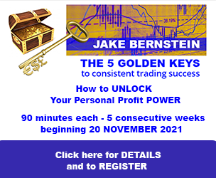 Jake Bernstein |The 5 Golden Keys to Trading Success