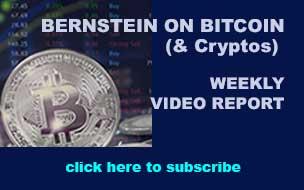 Bernstein on Bitcoin (& Cryptos)