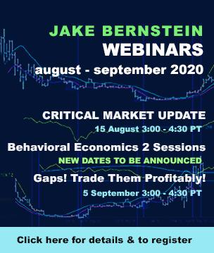 Jake Bernstein | Webinars Through August 2020
