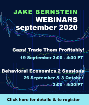 Jake Bernstein | Webinars Through August 2020